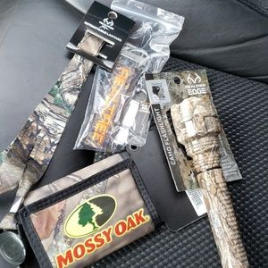 NWT Mossy Oak and Real Tree items